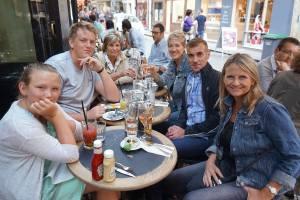 Last Supper in the Marais