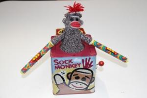 My conscience: The 'Bad Idea Sock Monkey'