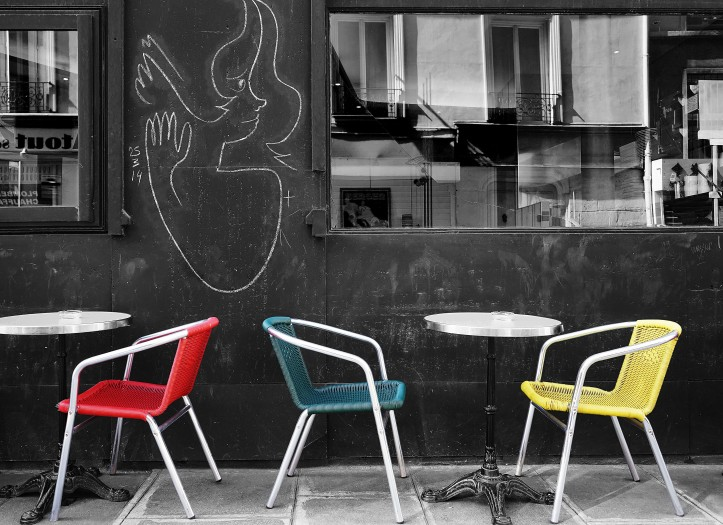 Aug 4 - Chairs & Street Art