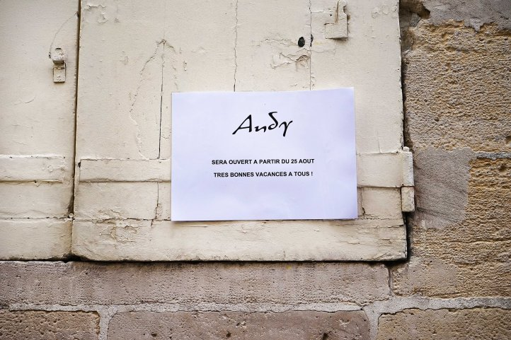 closed andy