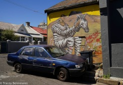 A pointed piece by Ukranian street artist Interesni Kazki