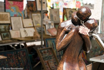 Not all items are cheap at a brocante