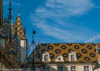 The famous Hospice of Beaune with its lovely roof.
